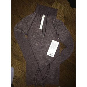 Black Cherry Lululemon 1/2 Zip